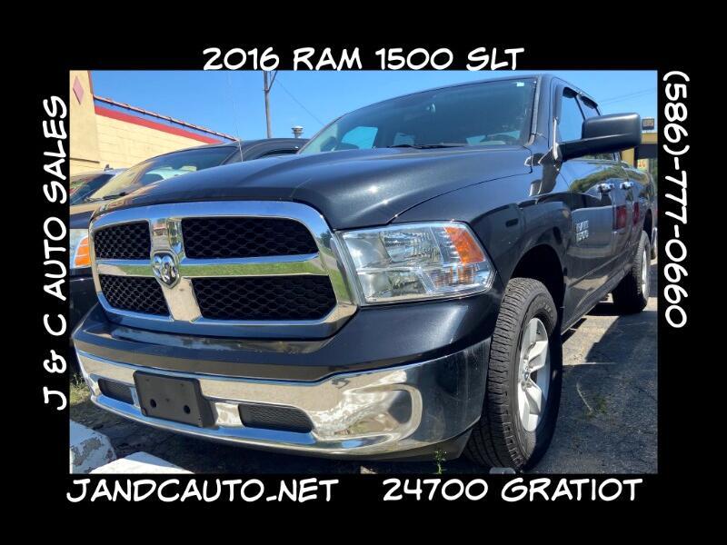 RAM 1500 SLT Quad Cab 4WD 2016