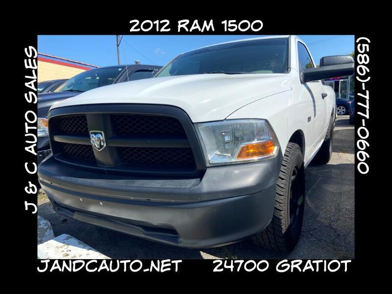 RAM 1500 ST SWB 2WD 2012