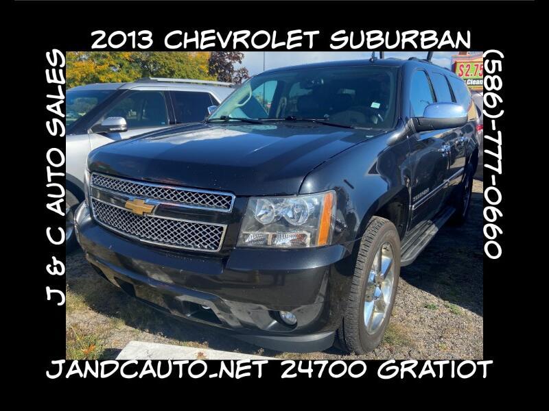 Chevrolet Suburban LTZ 1500 4WD 2013