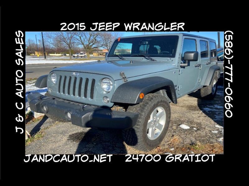 Jeep Wrangler Unlimited Sport 4WD 2015