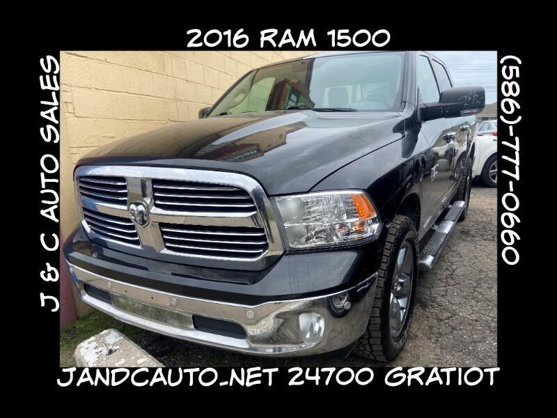 RAM 1500 SLT Crew Cab SWB 4WD 2016