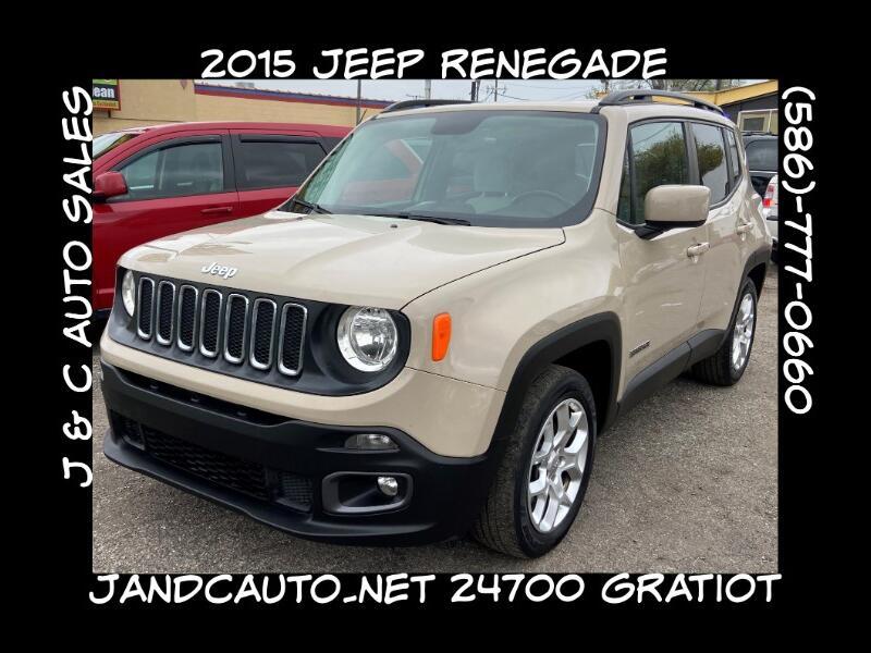 Jeep Renegade Latitude FWD 2015