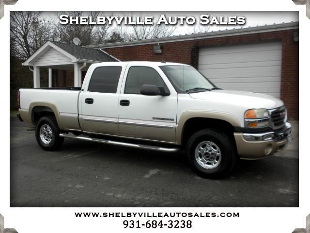 2005 GMC Sierra 2500HD SLE Crew Cab Short Bed 2WD