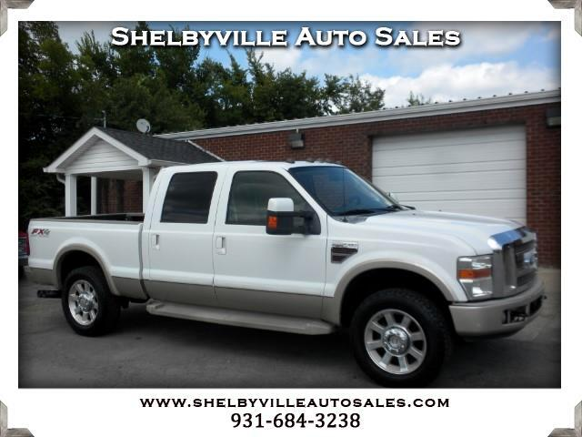 2008 Ford F-250 SD King Ranch Crew Cab 4WD