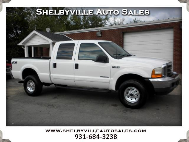 2001 Ford F-350 SD XLT Crew Cab Short Bed 4WD