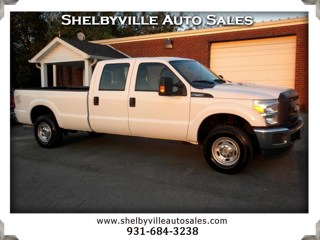2015 Ford Super Duty F-250 SRW XL Crew Cab 4WD
