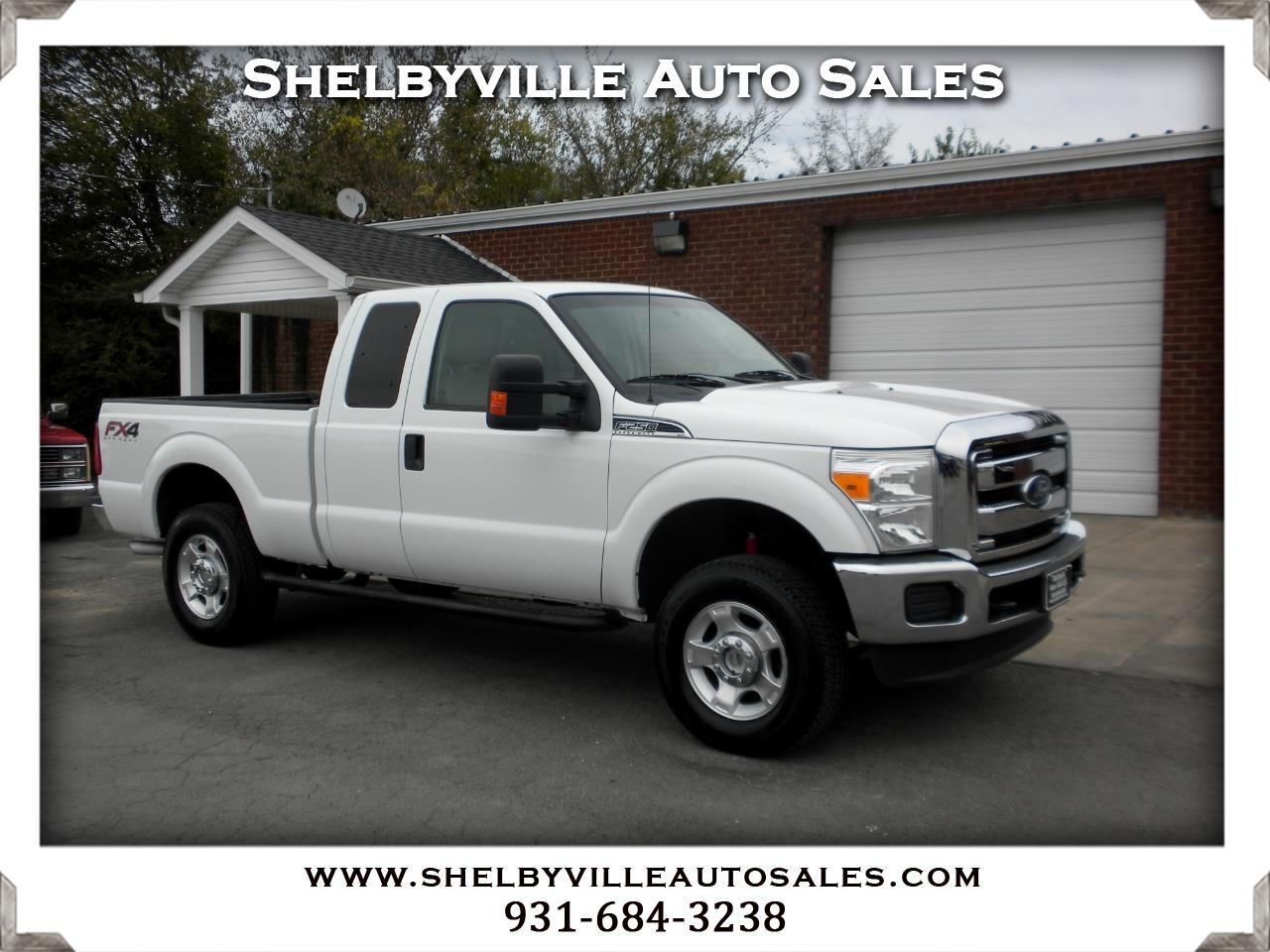 2014 Ford Super Duty F-250 SRW XLT SuperCab 4WD
