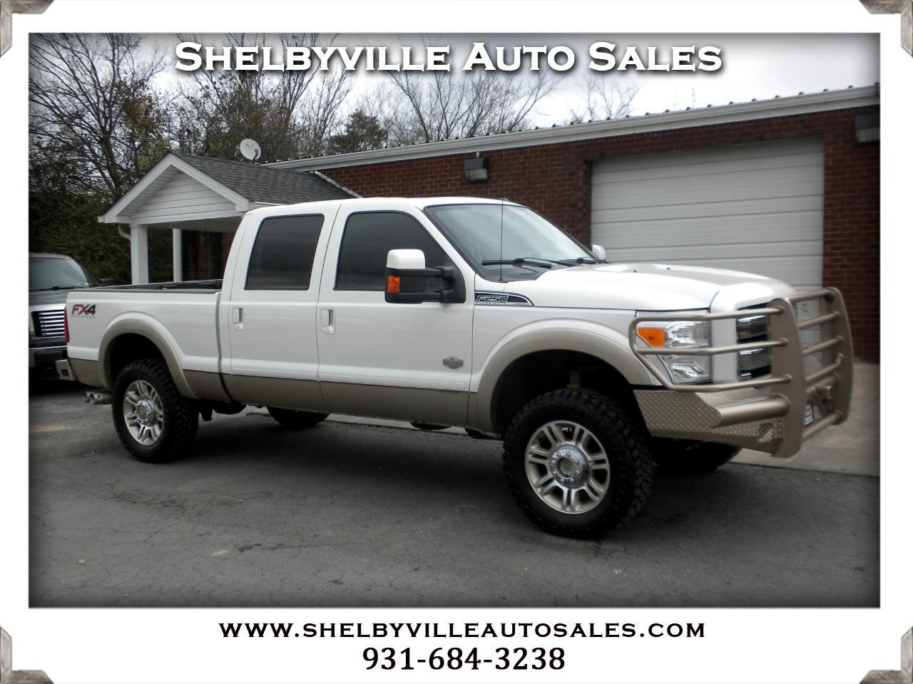 2012 Ford Super Duty F-250 SRW King Ranch Crew Cab 4WD