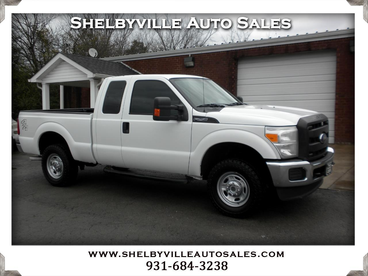 2015 Ford Super Duty F-250 SRW XL SuperCab 4WD