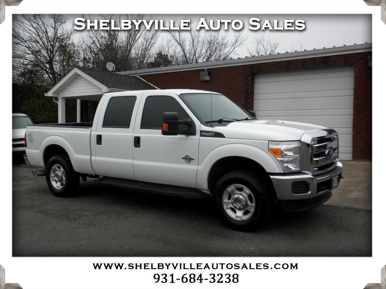 2016 Ford Super Duty F-250 SRW XL Crew Cab 4WD