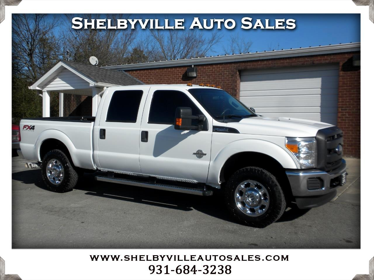 2013 Ford Super Duty F-250 SRW XL Crew Cab 4WD