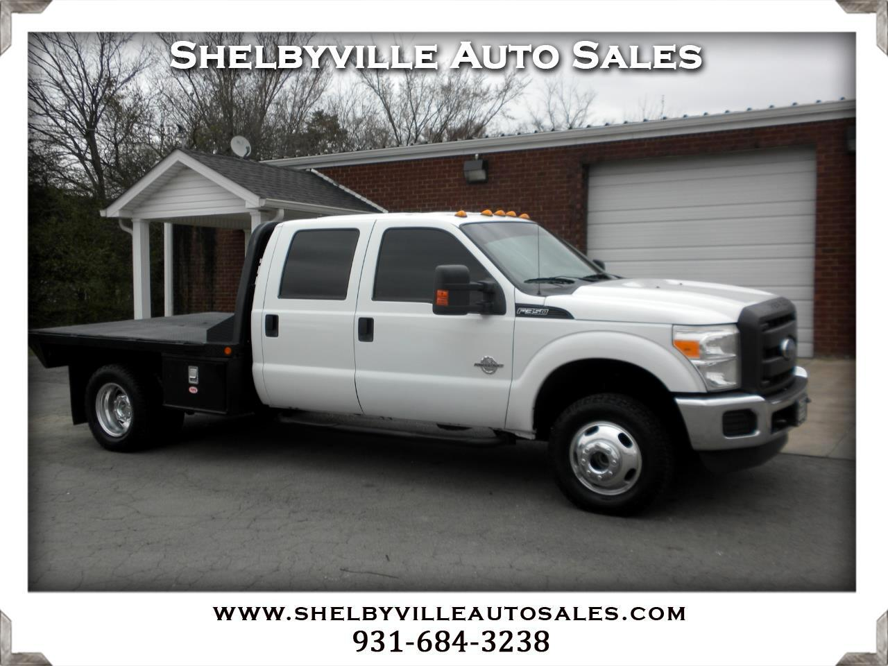 2012 Ford Super Duty F-350 DRW 4X4 Crew Cab XL