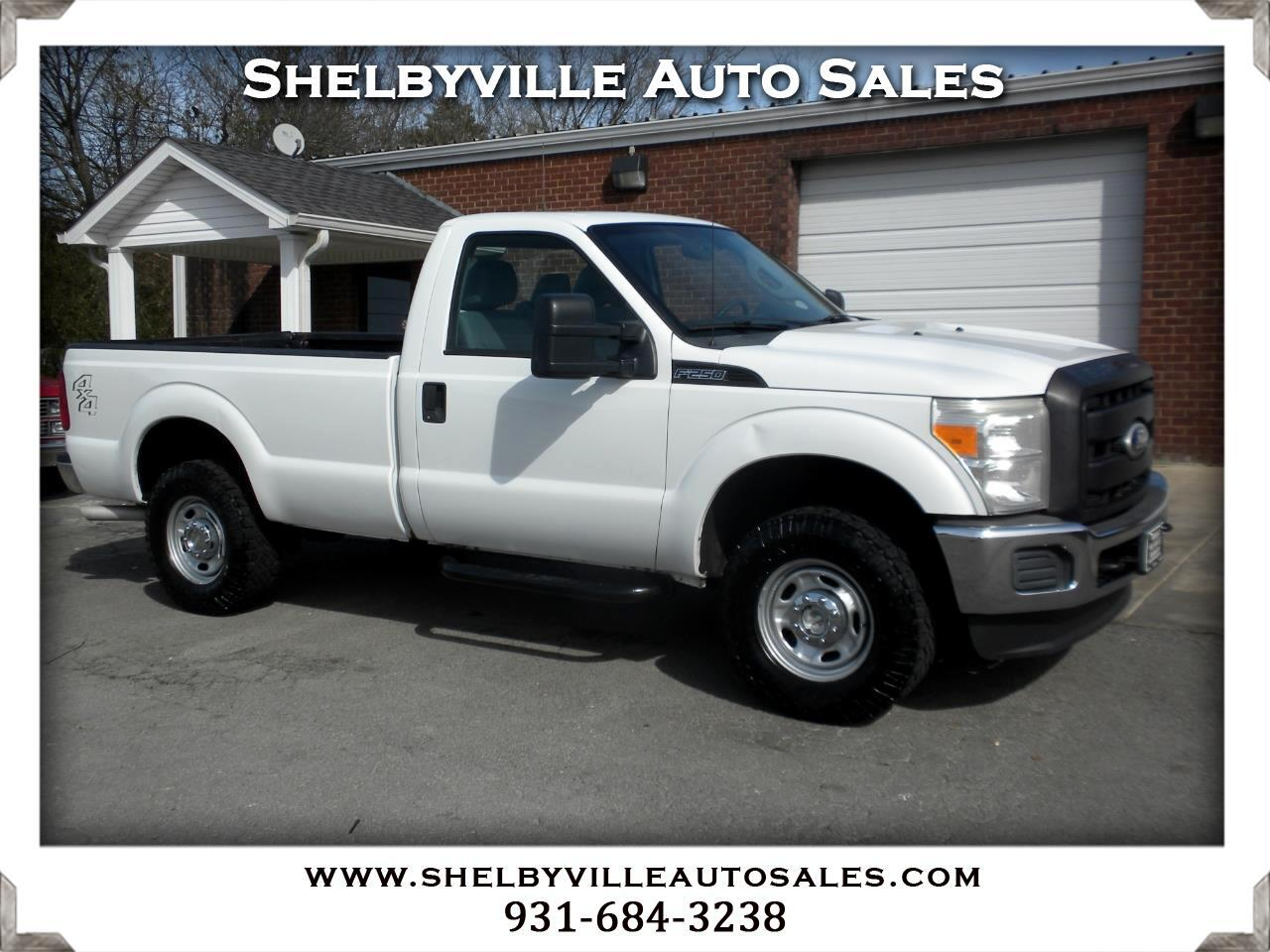 2011 Ford Super Duty F-250 SRW 4X4 Reg Cab XL