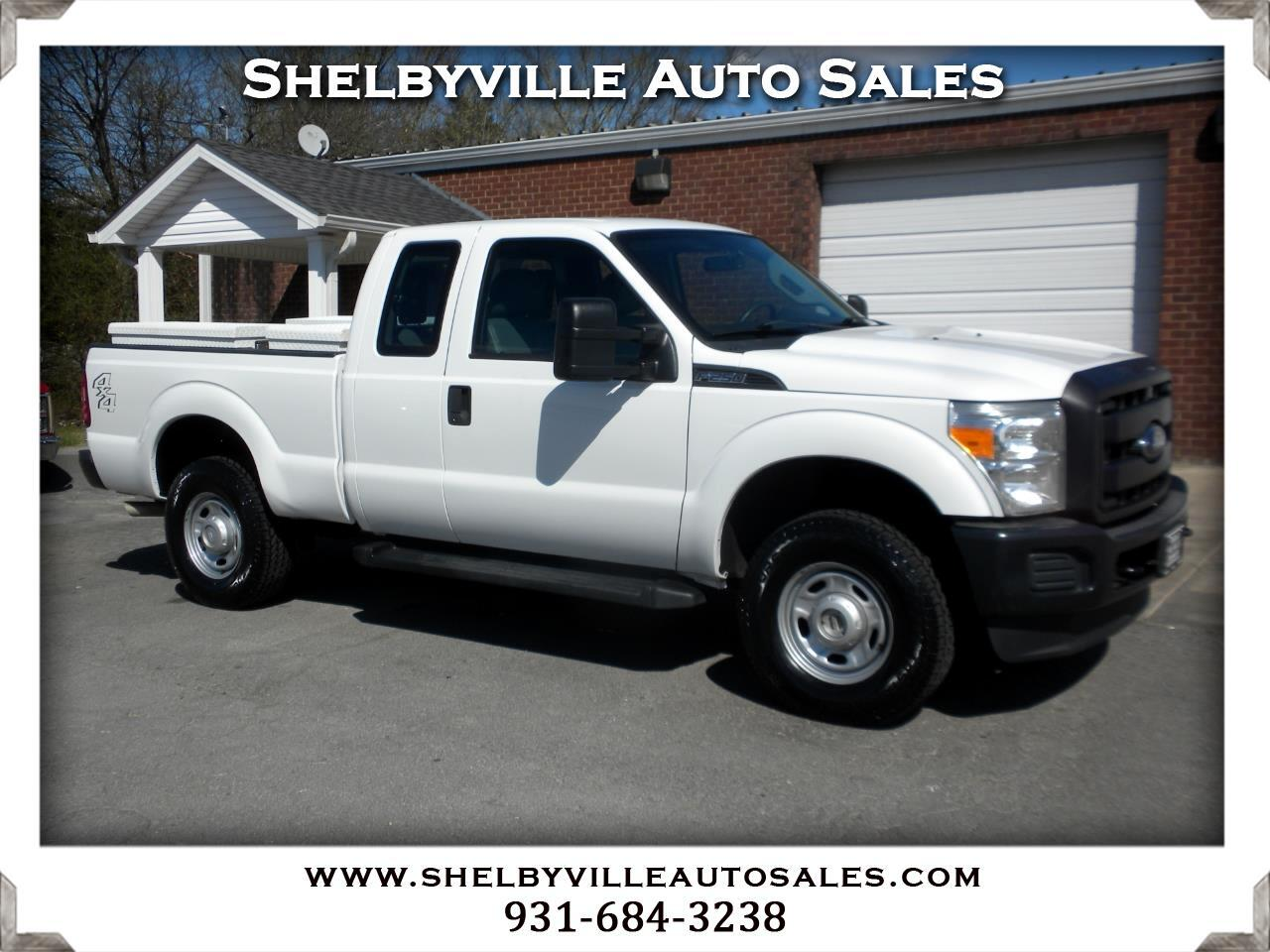 2013 Ford Super Duty F-250 SRW 4X4 SuperCab XL