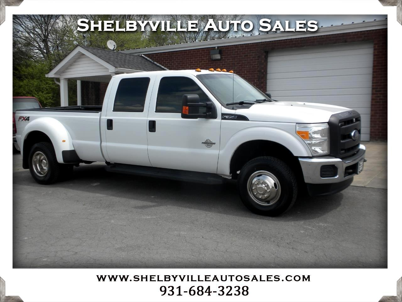 2016 Ford Super Duty F-350 DRW 4X4 Crew Cab XL