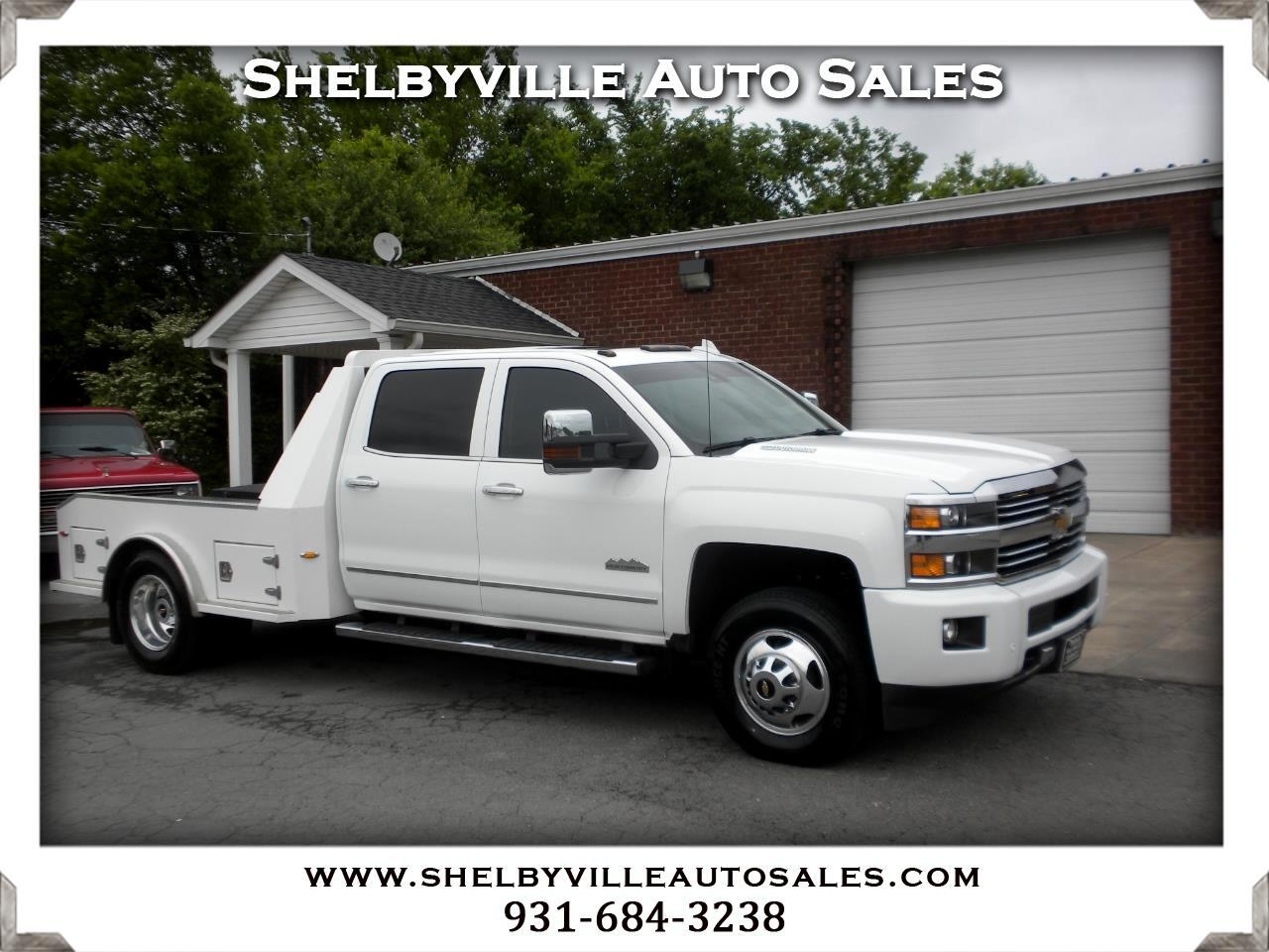 "2015 Chevrolet Silverado 3500HD 4WD Crew Cab 167.7"" High Country"