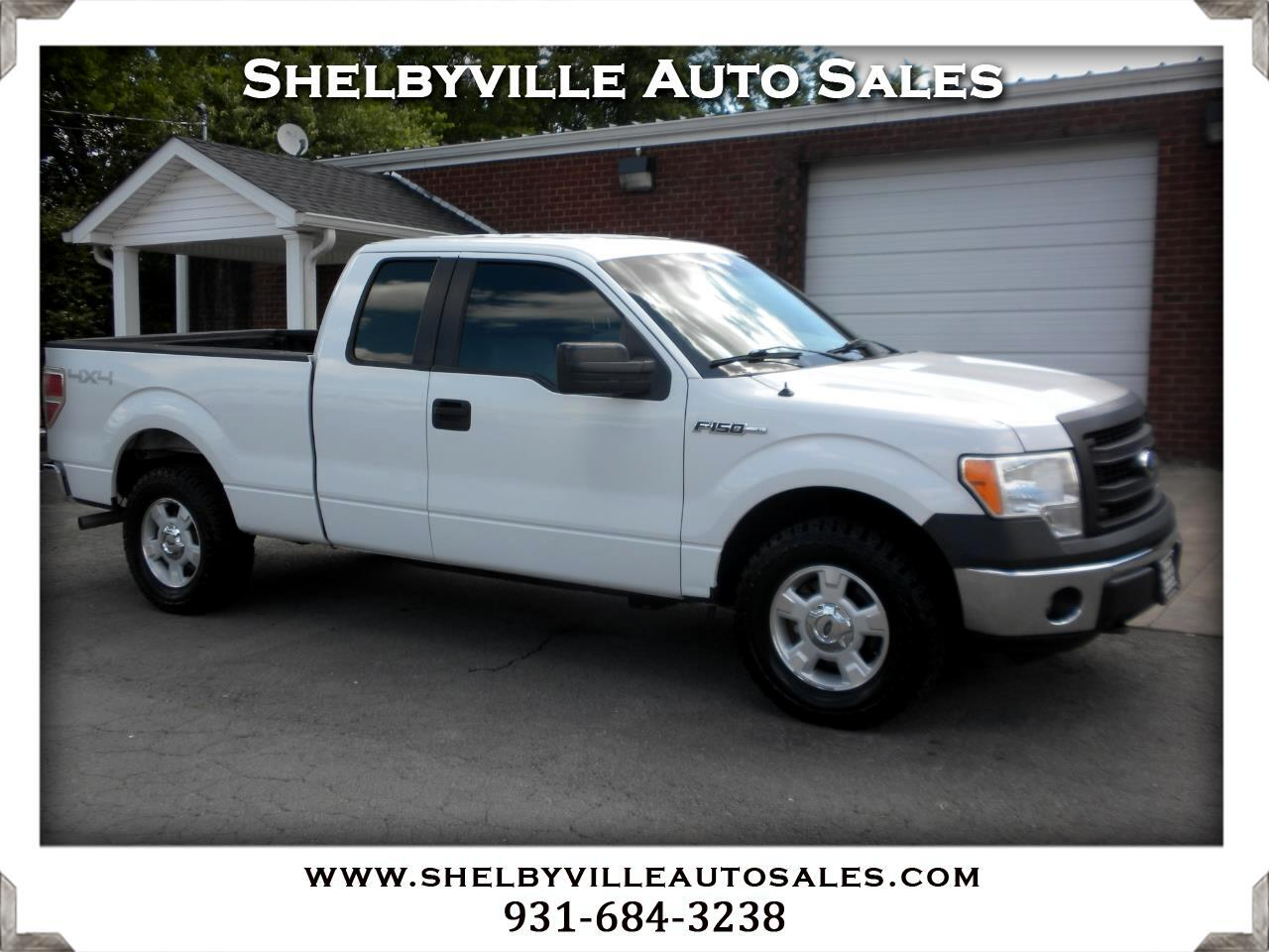2014 Ford F-150 4X4 SuperCab XL