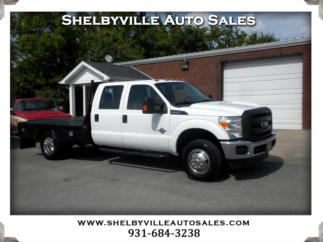 2015 Ford Super Duty F-350 DRW 4X4 Crew Cab XL