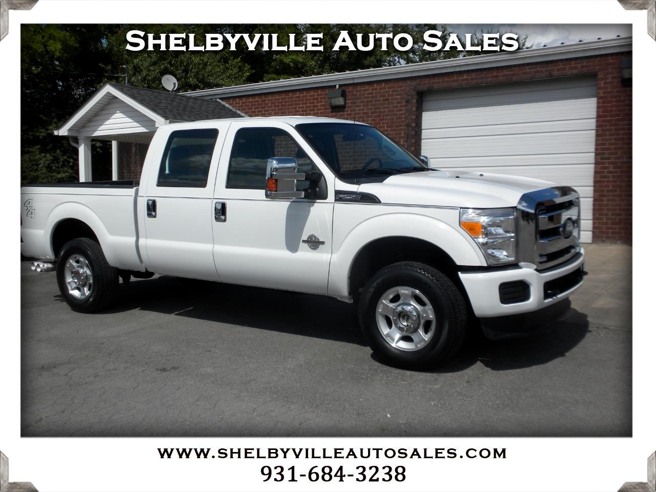 2016 Ford Super Duty F-250 SRW 4X4 Crew Cab XL
