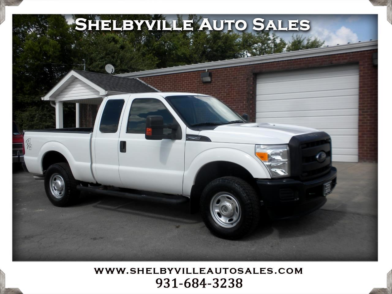 2015 Ford Super Duty F-250 SRW 4X4 SuperCab XL
