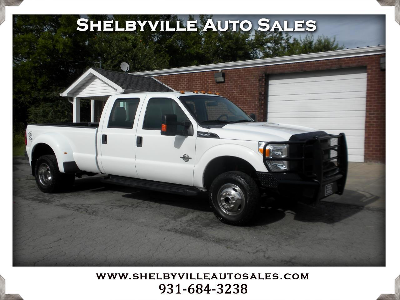 2013 Ford Super Duty F-350 DRW 4X4 Crew Cab XL