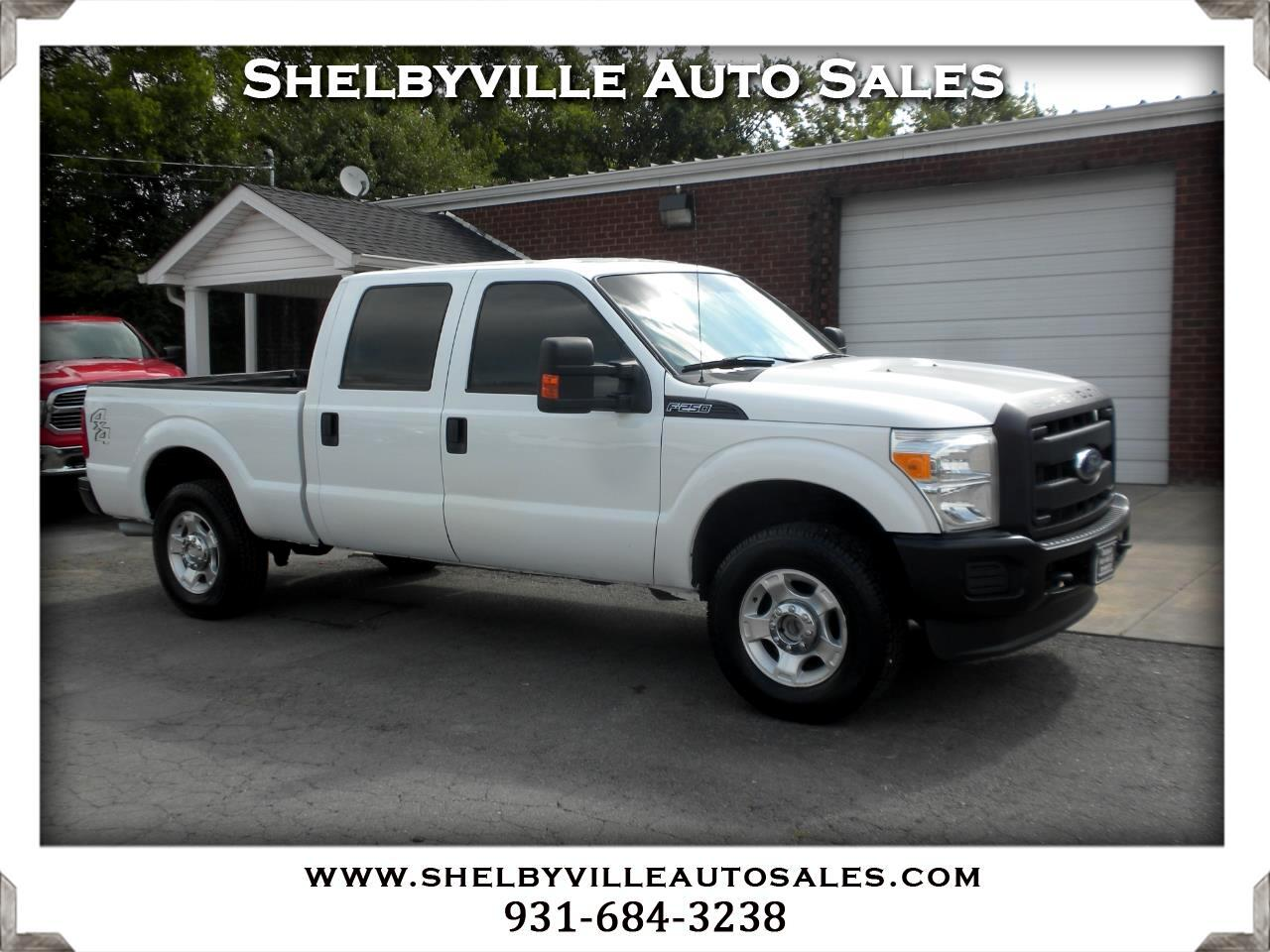 2014 Ford Super Duty F-250 SRW 4X4 Crew Cab XL
