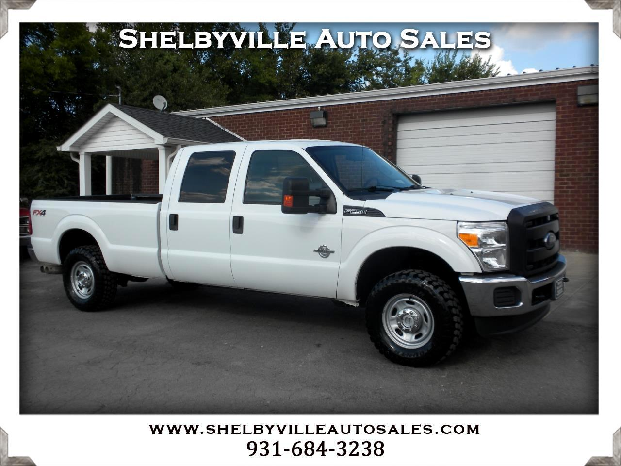 2013 Ford Super Duty F-250 SRW 4X4 Crew Cab XL