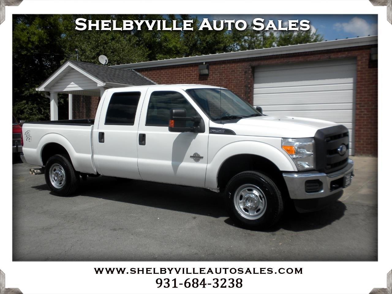 2015 Ford Super Duty F-250 SRW 4X4 Crew Cab XL