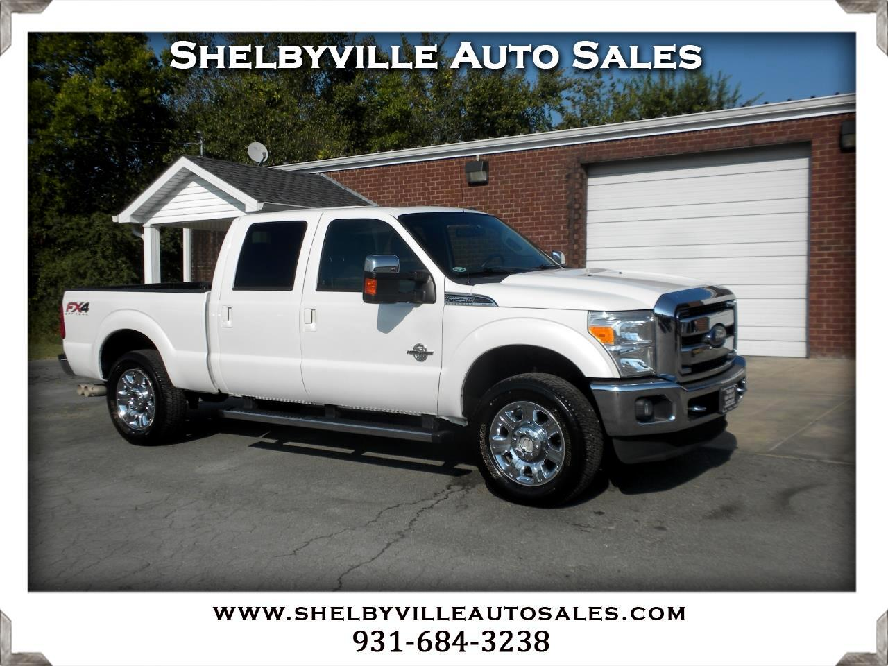 2012 Ford Super Duty F-250 SRW 4X4 Crew Cab Laraiat