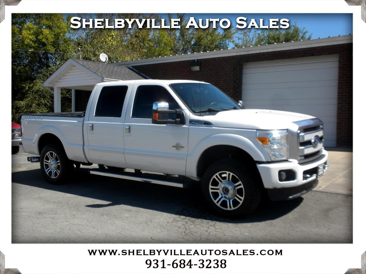 2013 Ford Super Duty F-250 SRW 4X4 Crew Cab Platinum