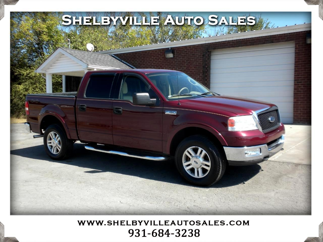 2004 Ford F-150 4X4 SuperCrew Lariat