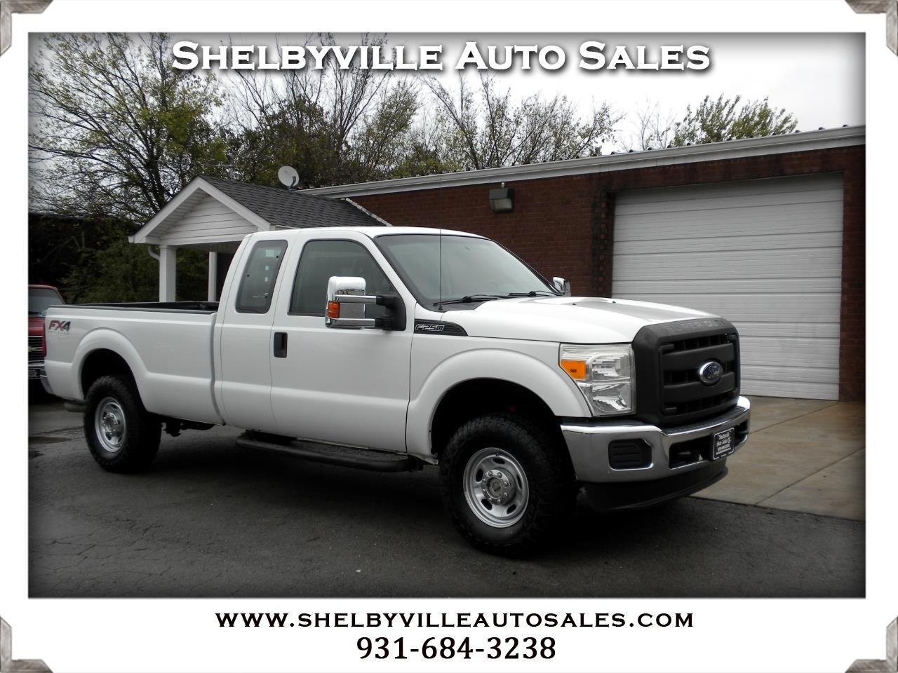 2012 Ford Super Duty F-250 SRW 4X4 SuperCab XL