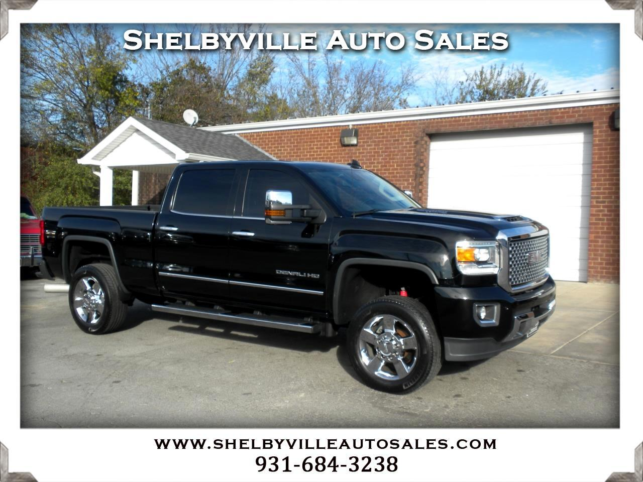 2015 GMC Sierra 2500HD available WiFi 4x4 Crew Cab Denali