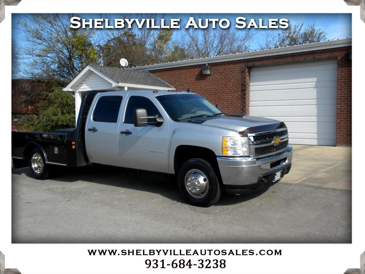 2013 Chevrolet Silverado 3500HD 4X4 Crew Cab