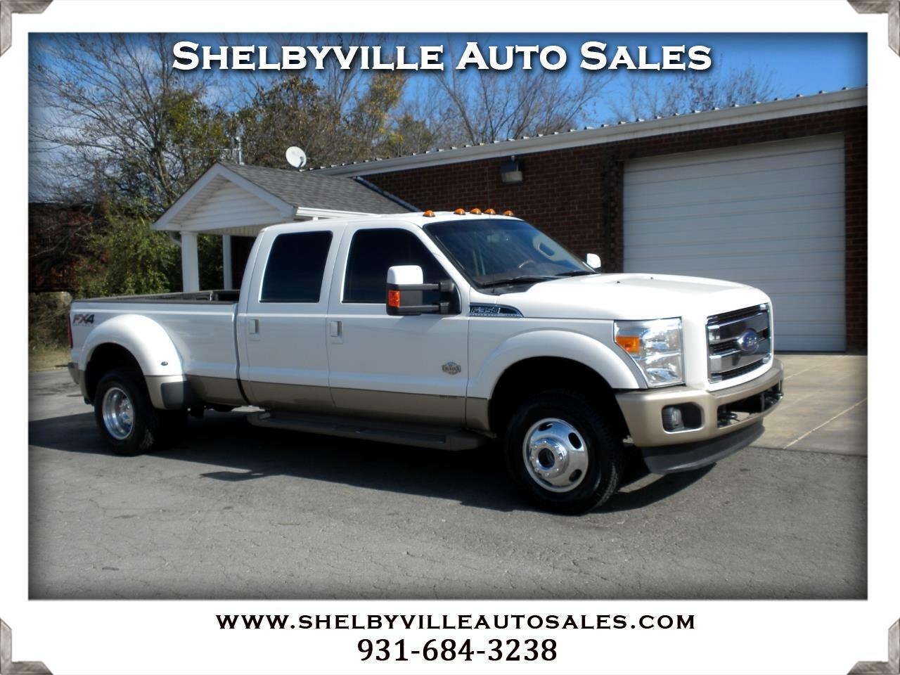 2014 Ford Super Duty F-350 DRW 4X4 Crew Cab King Ranch