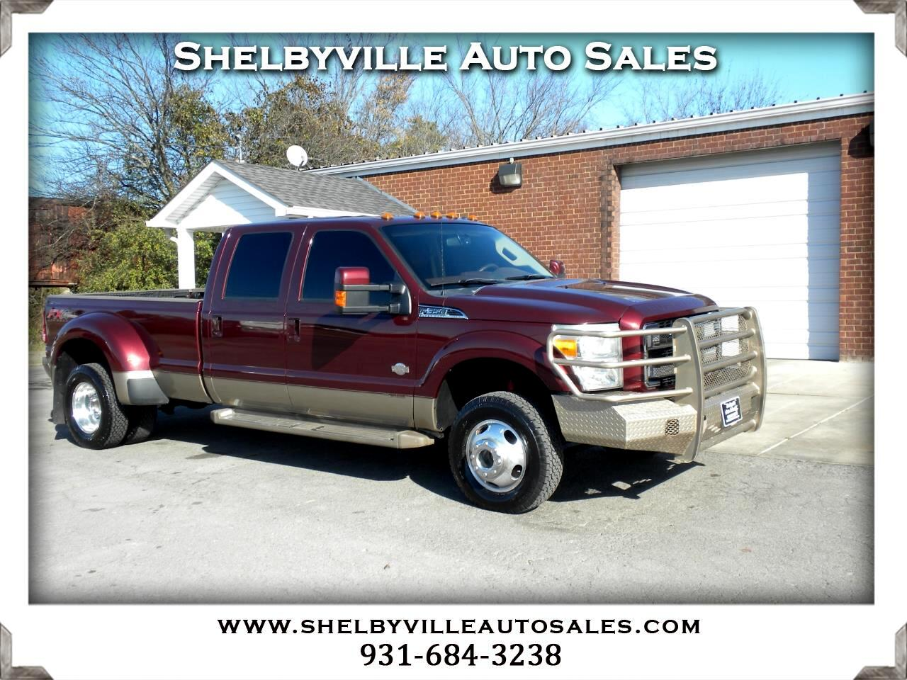 2013 Ford Super Duty F-350 DRW 4X4 Crew Cab King Ranch
