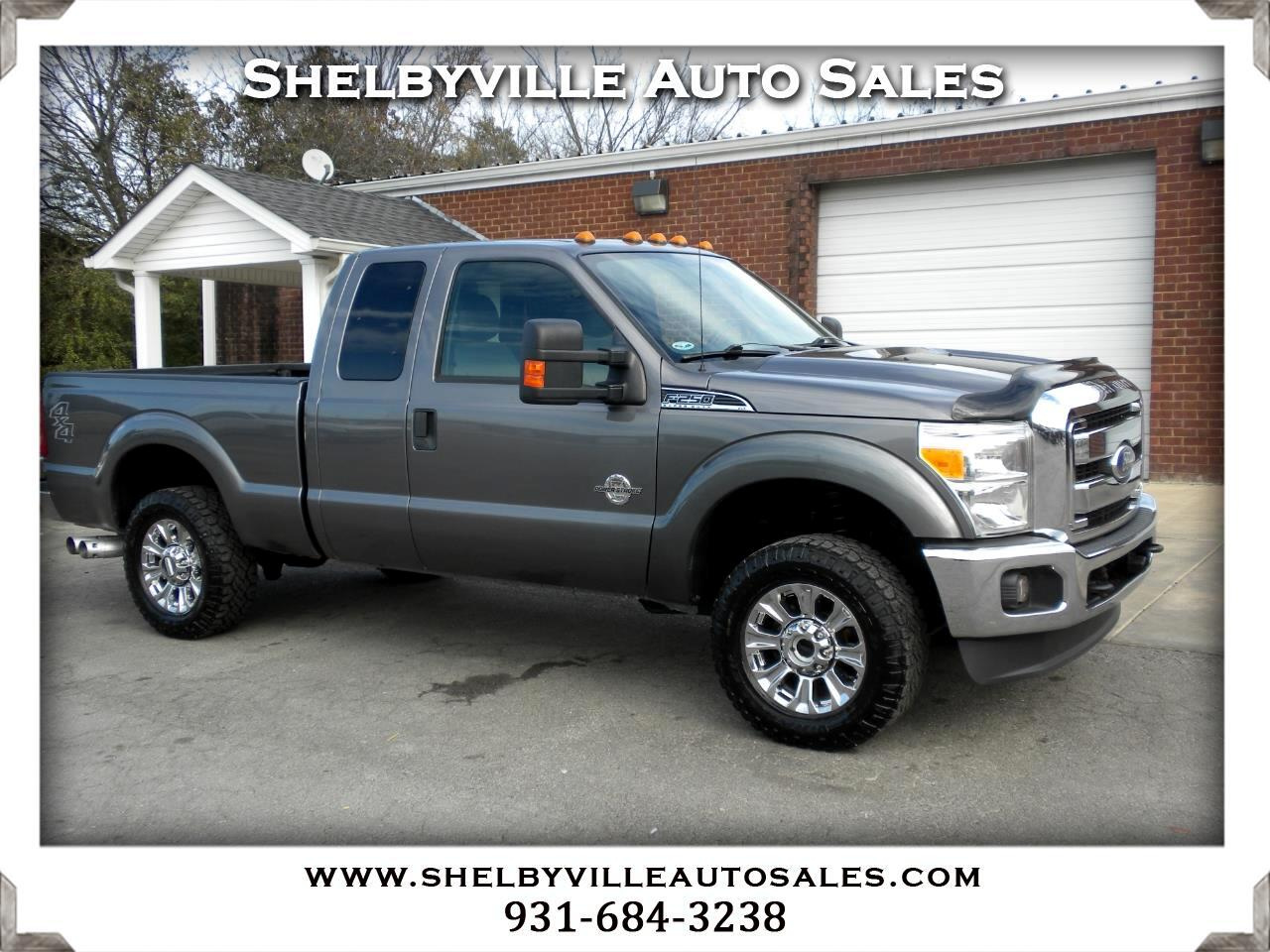 2012 Ford Super Duty F-250 SRW 4X4 SuperCab XLT