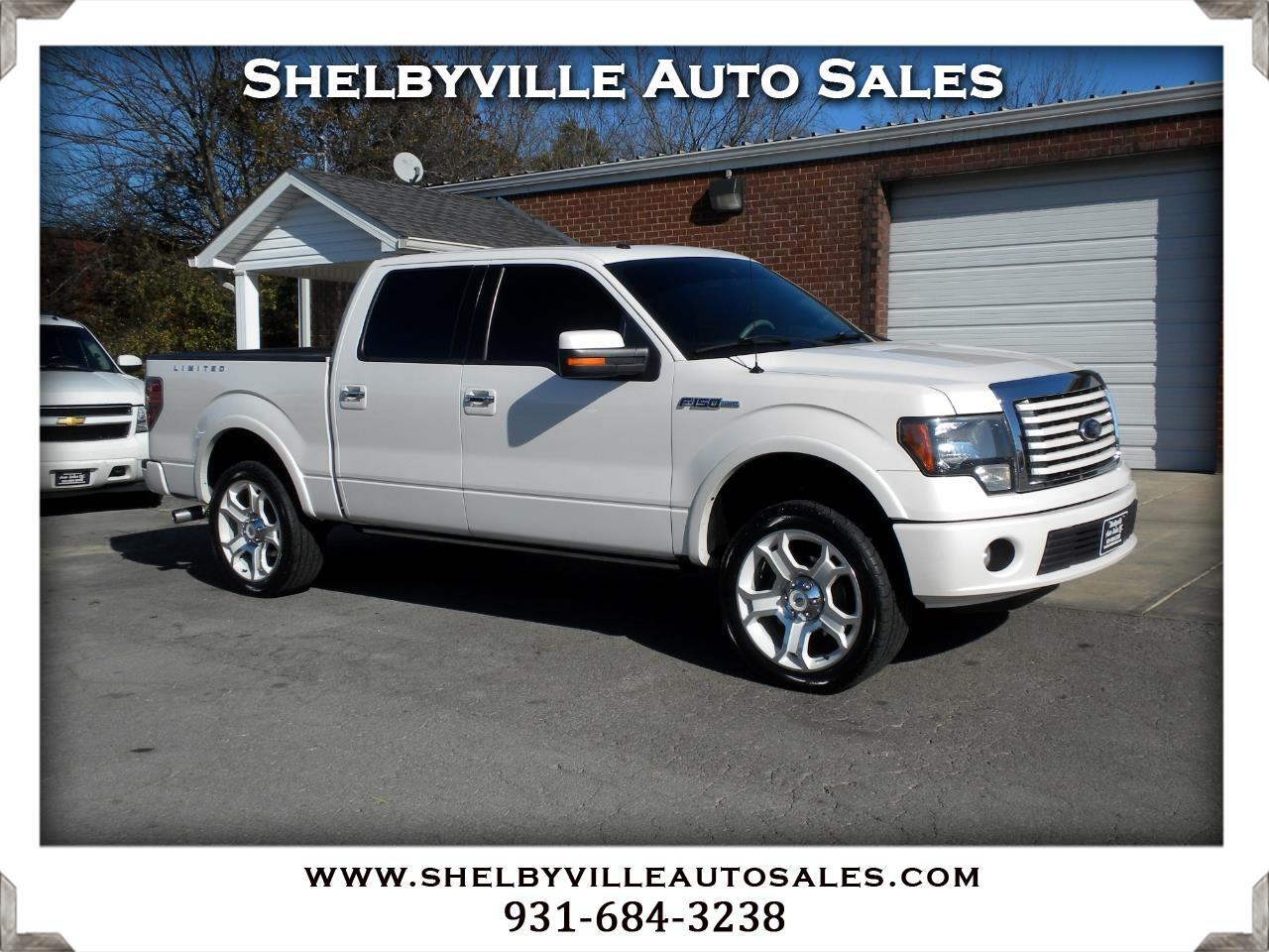 2011 Ford F-150 4X4 Crew Cab Lariat Limited
