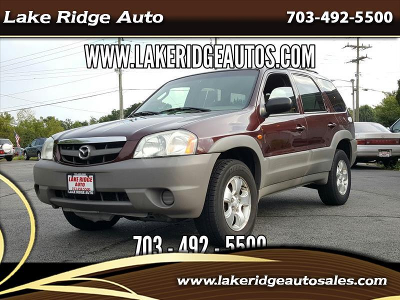 2001 Mazda Tribute DX V6 4WD