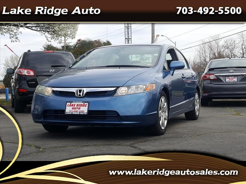 Honda Civic LX Sedan AT 2006