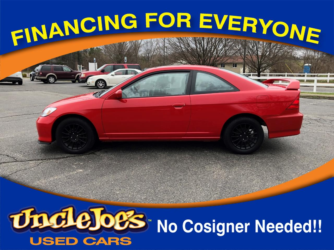 2005 Honda Civic EX Coupe AT