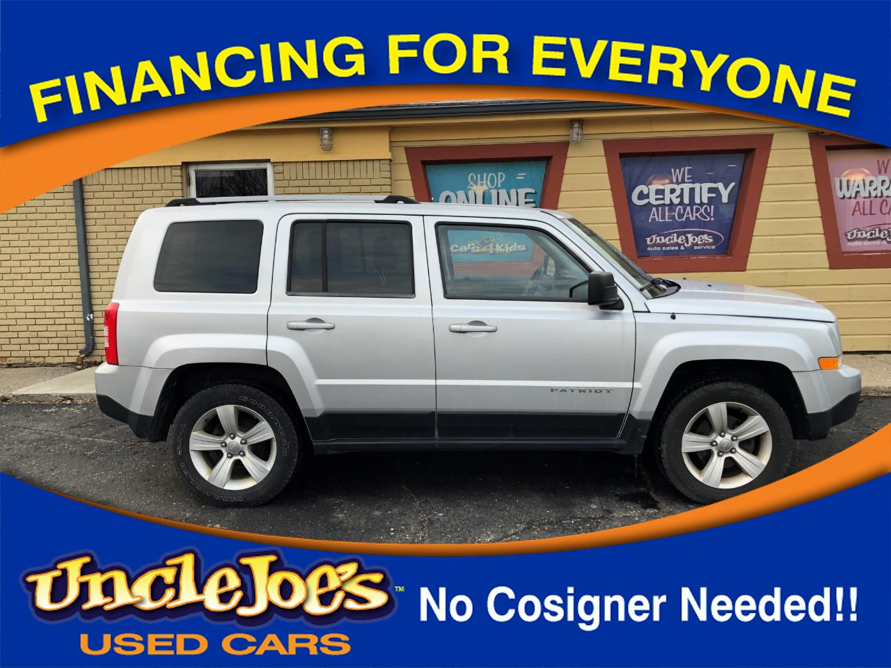 Jeep Patriot Limited 4WD 2014