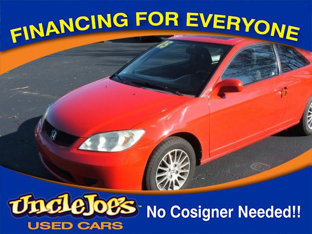 2005 Honda Civic SE coupe AT