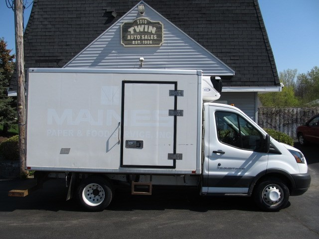 "2016 Ford Transit T-350 HD 10'4"" Refrigerated Cube Body DRW"