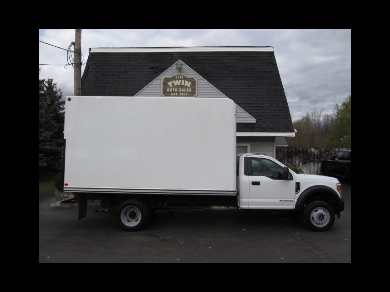 2017 Ford F-450 SD Regular Cab DRW 4WD 16' Unicell Body Pull-out Ramp