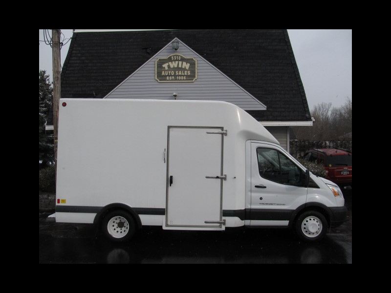 2015 Ford Transit T350 HD 12' Box Curbside Door DRW