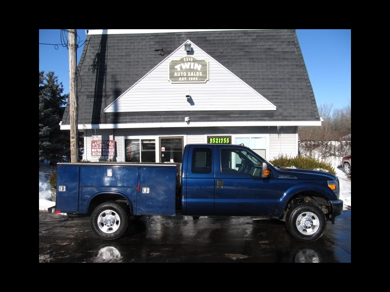 2012 Ford F-350 SD Extended Cab 4x4 Open Utility Body SRW