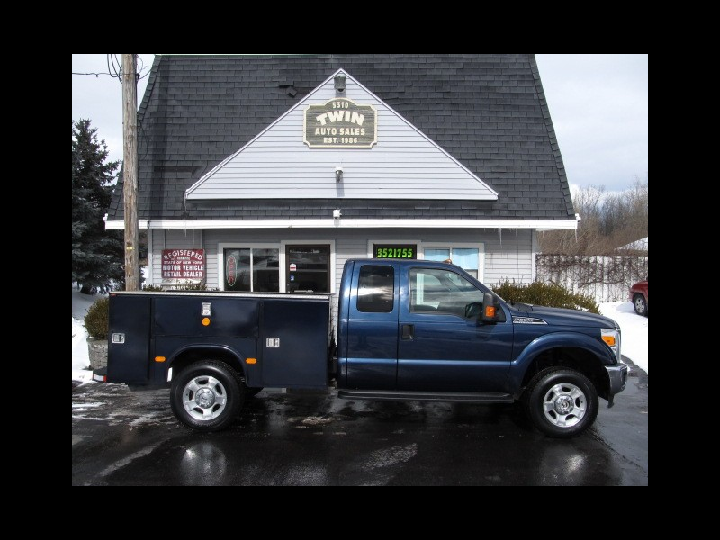 2015 Ford F-350 SD Extended Cab 4x4 Open Utility Body SRW