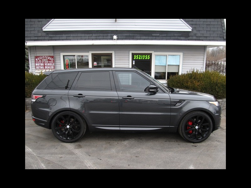 2016 Land Rover Range Rover Sport 5.0 L V8 Supercharged Autobiography Full Factory W