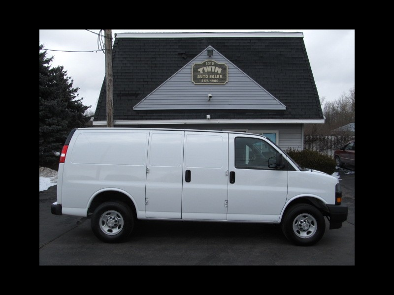 Used Work Vans >> Used 2018 Chevrolet Express 2500 Cargo For Sale In Rochester